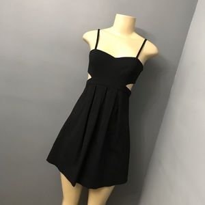 Sparkle and fade cutout dress small